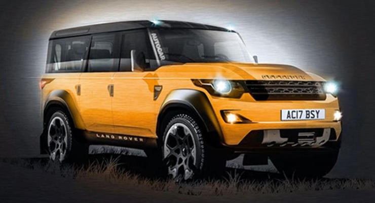 Продажи нового Land Rover Defender начнутся в 2019 году