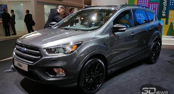 Ford представил кроссовер Kuga на выставке мобильных технологий