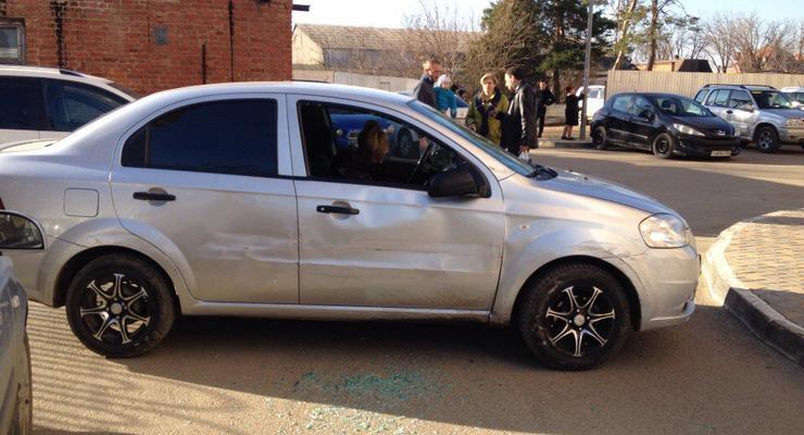 В России пьяная девушка протаранила 17 машин