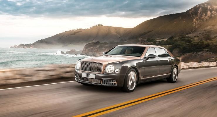 Компания Bentley представила обновленный седан Mulsanne