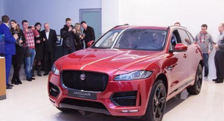 В Украине назвали цены на Jaguar F-Pace