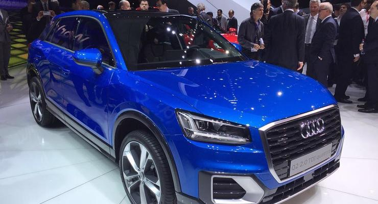Audi показала в Женеве компактный кроссовер Q2