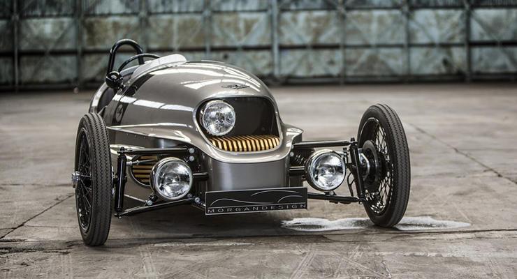 Компания Morgan показала трехколесный автомобиль массой 500 кг