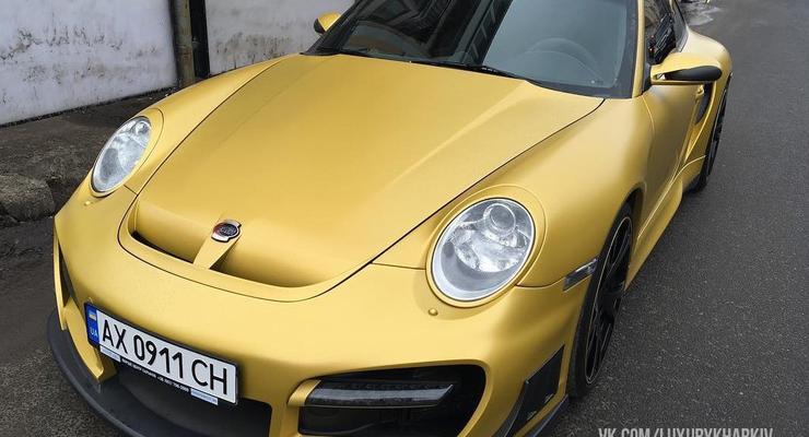 В Харькове купили любимый спорткар Черновецкого-младшего