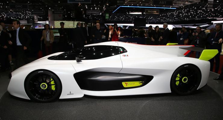 Ателье Pininfarina показало концепт спорткара
