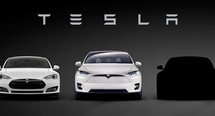 Tesla показала тизер своего нового электрокара