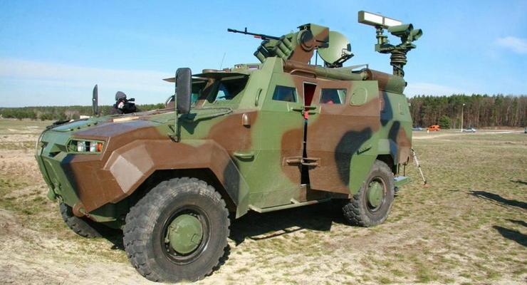 Украинские пограничники начали испытывать новый броневик