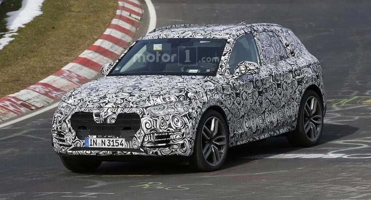 На Нюрбургринге тестируют новый кроссовер Audi