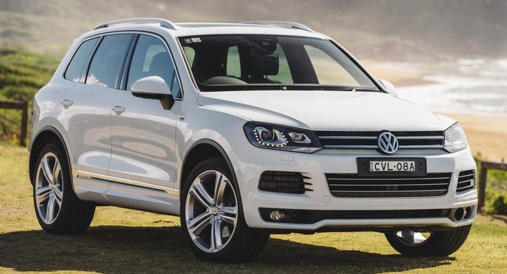 Группа Volkswagen отзывает сотни тысяч внедорожников