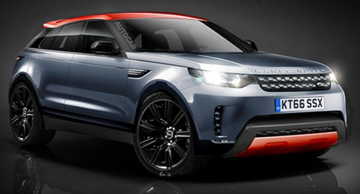 Land Rover анонсировал конкурента BMW X6