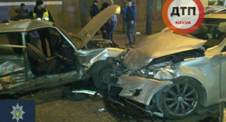 В Одессе столкнулись Daewoo и Lexus, есть погибший