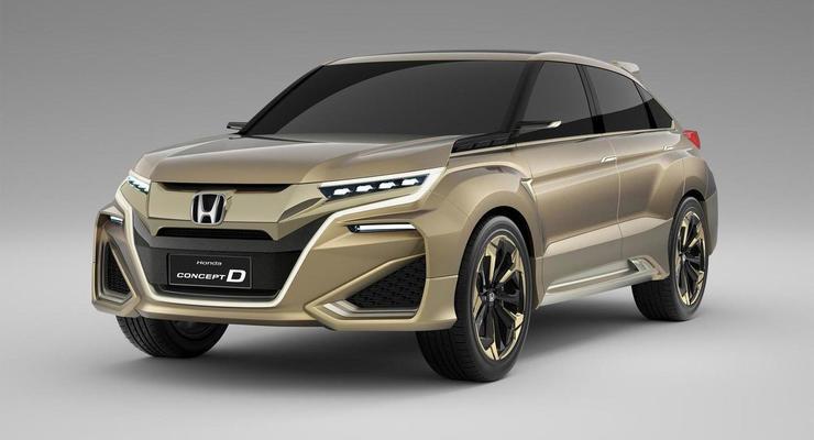 Honda определилась с названием нового флагманского кроссовера
