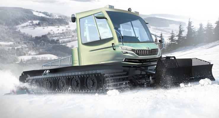 Skoda показала концепт нового Snowman