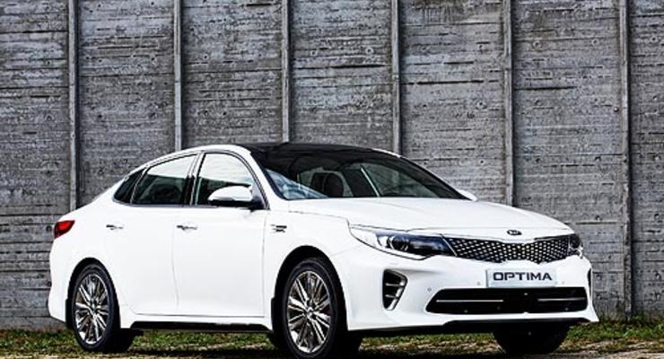 Украинский дилер объявил цену на новую Kia Optima
