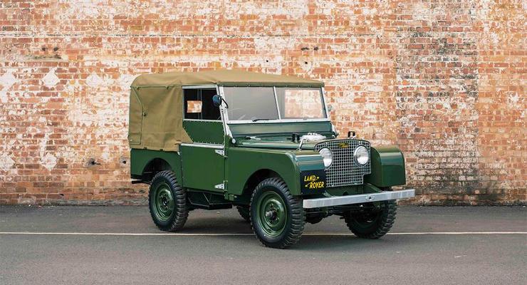 Land Rover выпустит серию классических Defender