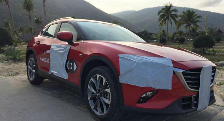 Китайские журналисты рассказали о характеристиках кроссовера Mazda CX-4