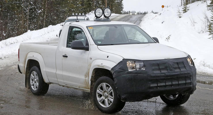 Volkswagen вывел на тесты пикап Amarok