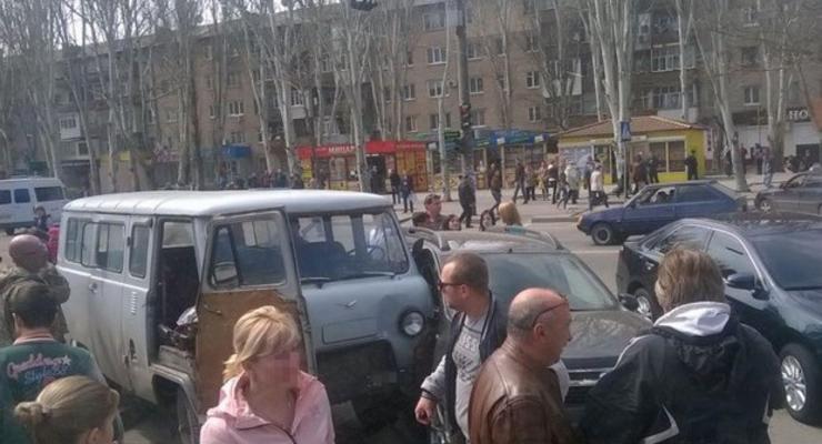 Военный УАЗ устроил смертельное ДТП в Мелитополе