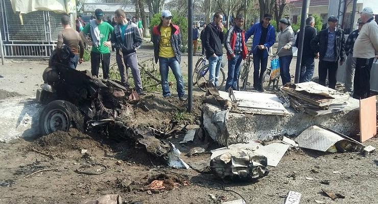 В Херсонской области взорвался автомобиль