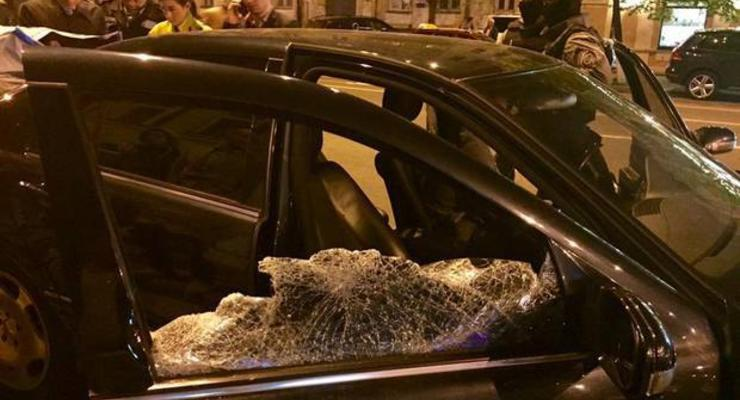 В Киеве со стрельбой задержали автоворов