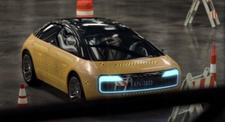 Шпионы сфотографировали прототип автомобиля Apple