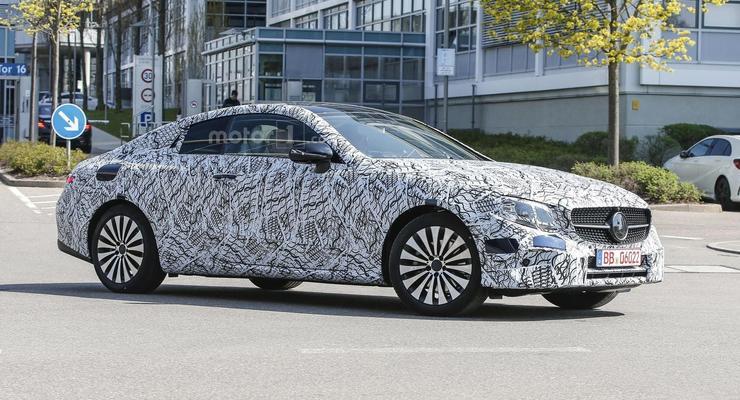 Mercedes E-Class Coupe вывели на тесты