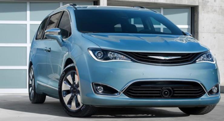 Fiat и Google анонсировали минивен с автопилотом