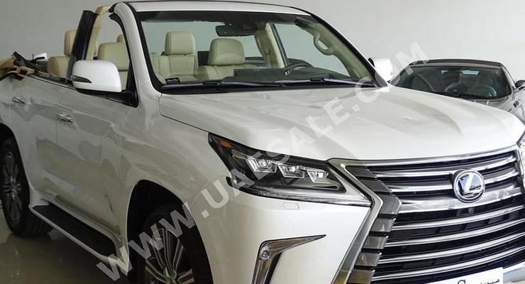 В Эмиратах построили кабриолет из внедорожника Lexus