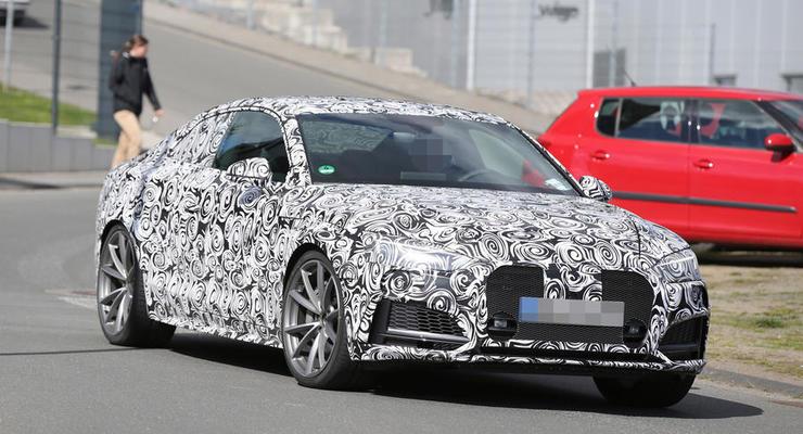 Audi начала дорожные тесты нового RS5