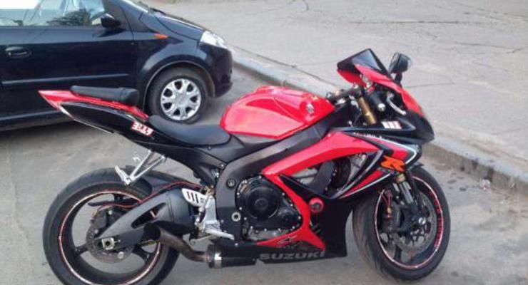 В Харькове ограничили движение мотоциклов