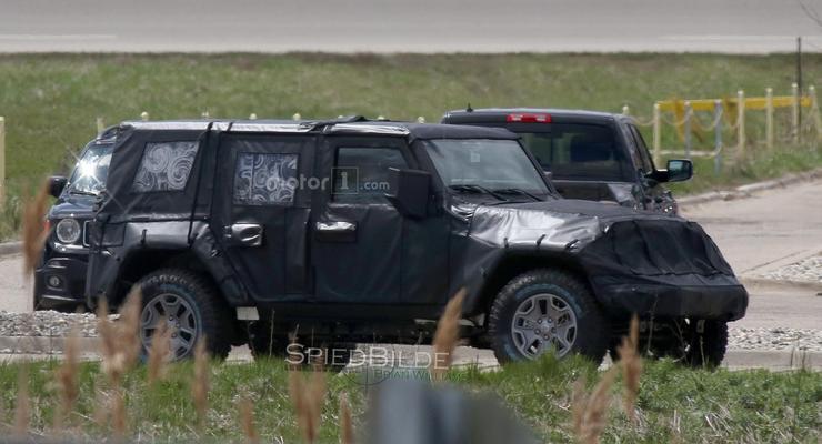 Jeep вывел на тесты новое поколение Wrangler