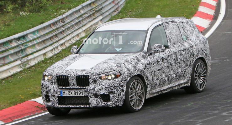 BMW X3 нового поколения появится в 2017 году