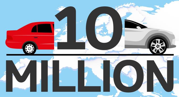 В Европе произведено 10 млн автомобилей Toyota