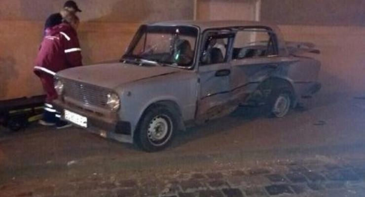 Во Львове произошло ДТП, семеро пострадавших