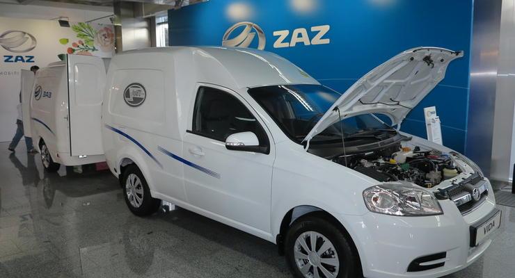 ЗАЗ показал в Киеве новый фургон