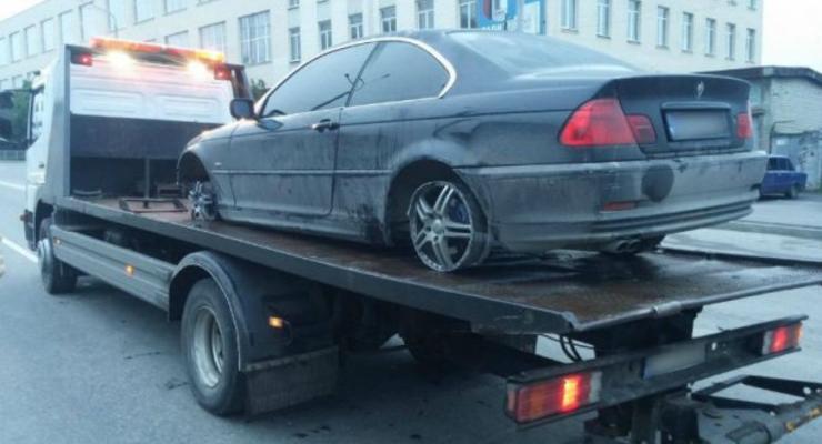 Харьковская полиция устроила погоню за BMW