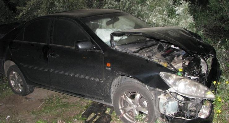 Два человека пострадали в ДТП на окраине Киева