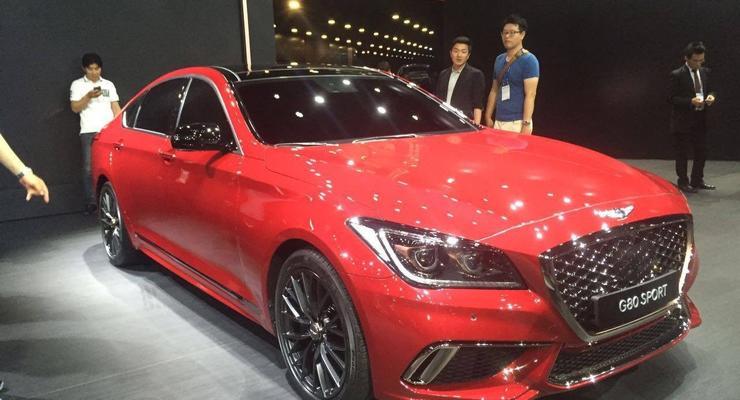 Бренд Genesis представил премиальный седан