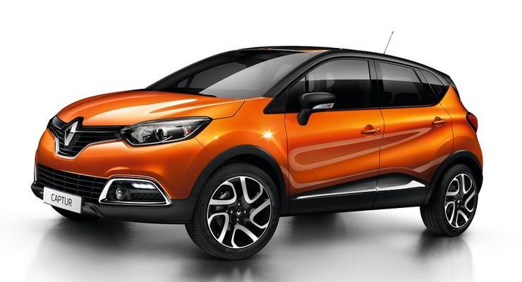 В Украине начались продажи дизельных Renault Captur