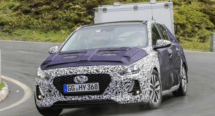 Новое поколения хэтчбека Hyundai i30 вывели на тесты