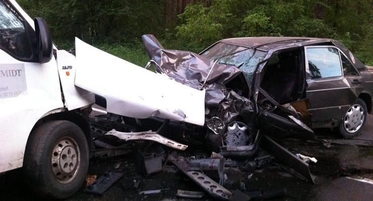 В Житомире произошло ДТП, один человек погиб