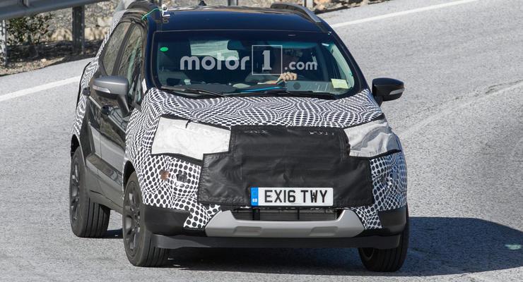 Ford вывел на тесты обновленный кроссовер EcoSport