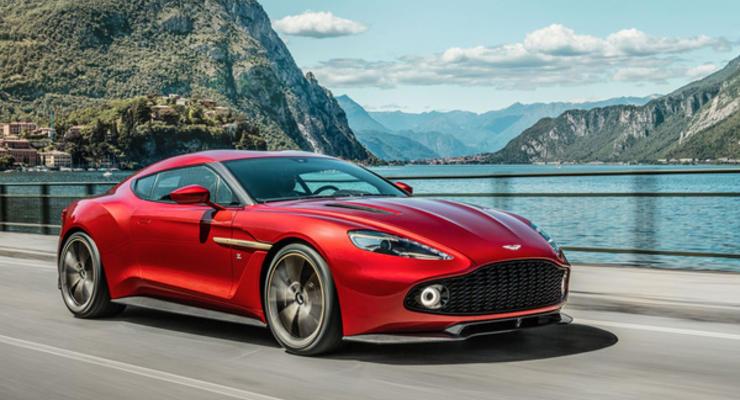 Aston Martin запускает в серию концепт Vanquish Zagato