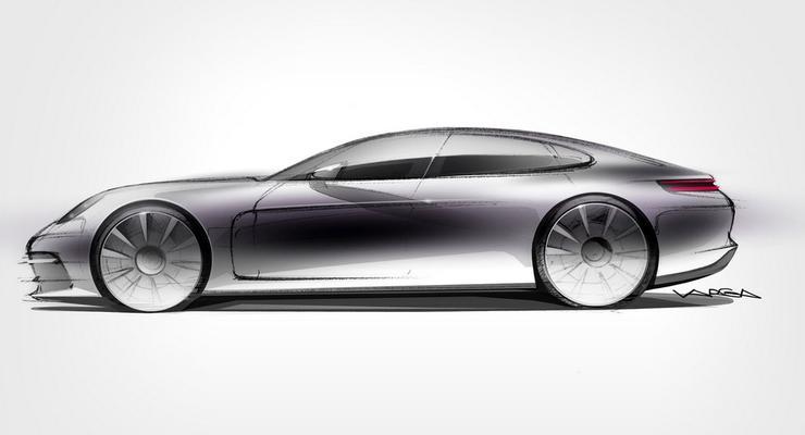 Porsche показала Panamera нового поколения