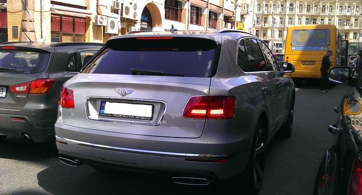 Журналисты разузнали, кому принадлежит первый в Украине Bentley Bentayga