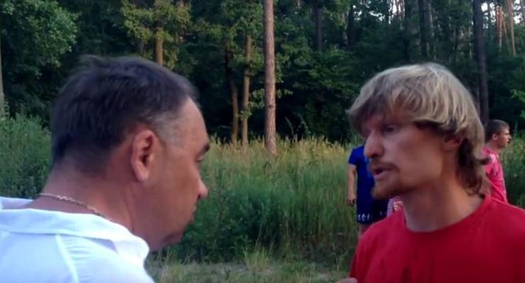 Появились видео с чиновником Укрзализныци, устроившим аварию с журналистом
