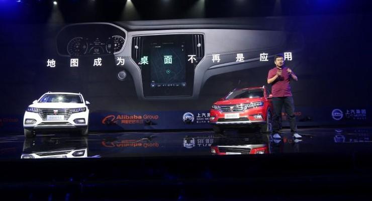 Alibaba и SAIC Motor представили умный автомобиль