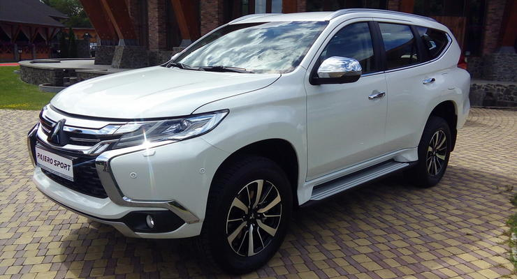 В Украине презентовали Mitsubishi Pajero Sport нового поколения