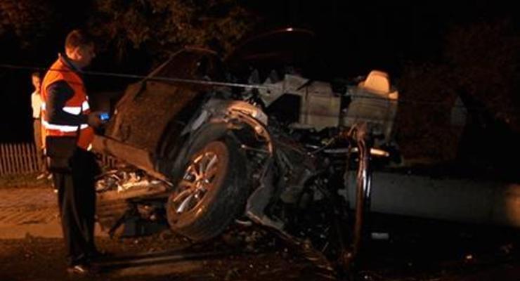 На Прикарпатье в аварии погибли четверо