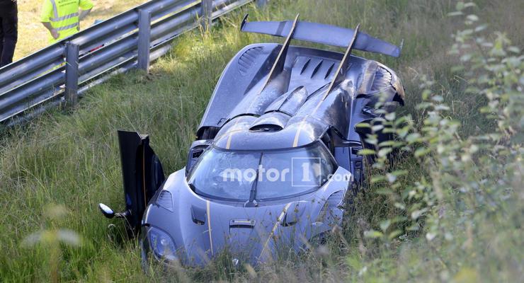 В Германии разбили уникальный гиперкар Koenigsegg